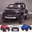 kids 12v electric ford ranger raptor f150 battery operated ride on car with parental remote control main black Black wildtrak 2wd