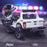 kids 12v electric ford ranger raptor f150 police truck car jeep pick up battery operated ride on car with parental remote control rear angle wildtrak edition