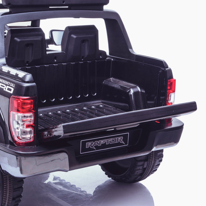 kids 12v electric ford ranger raptor f150 police truck car jeep pick up battery operated ride on car with parental remote control working boot 2 wildtrak edition