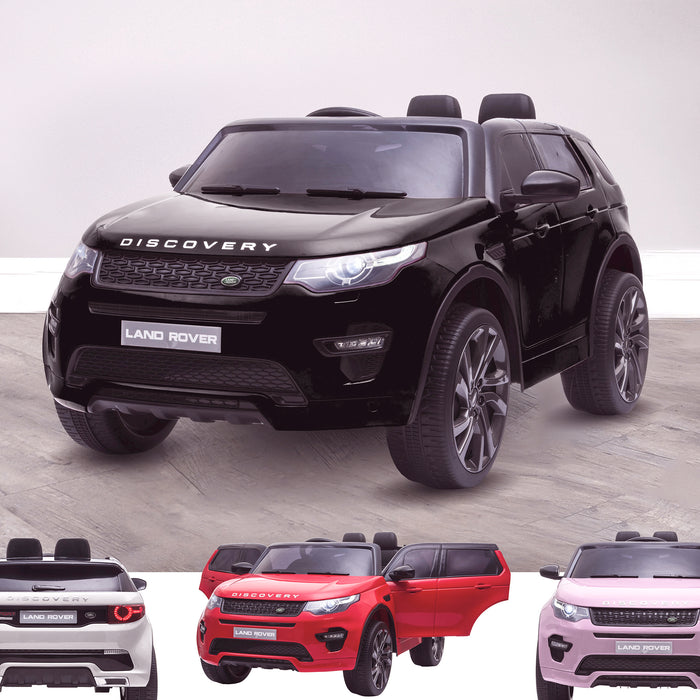 kids 12v electric land rover discovery 2019 battery operated kids ride on car jeep with parental remote control black opt Black hse sport