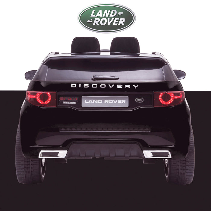 kids 12v electric land rover discovery 2019 battery operated kids ride on car jeep with parental remote control black rear hse sport