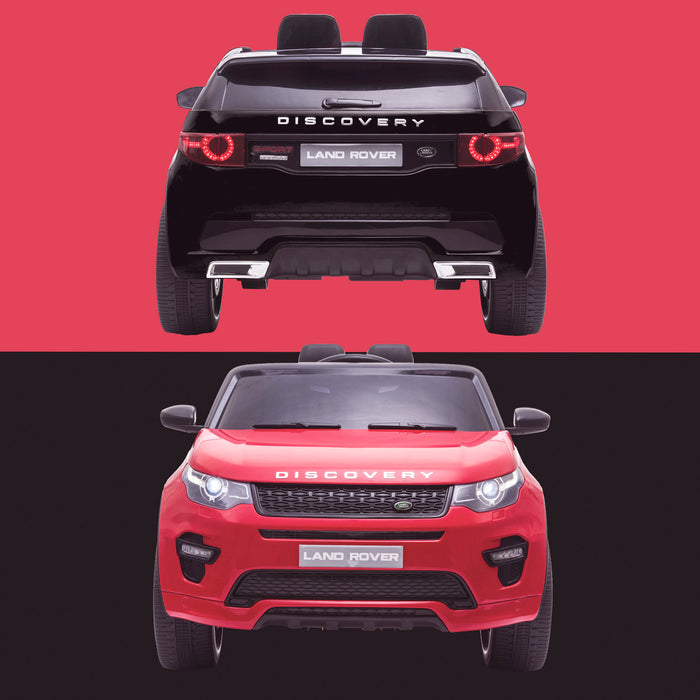 kids 12v electric land rover discovery 2019 battery operated kids ride on car jeep with parental remote control black red hse sport