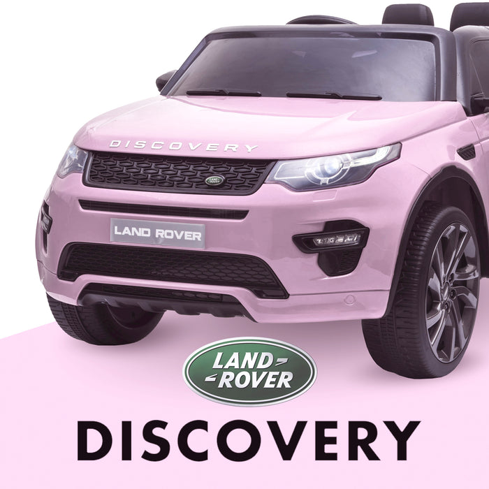 kids 12v electric land rover discovery 2019 battery operated kids ride on car jeep with parental remote control pink hse sport in