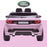 kids 12v electric land rover discovery 2019 battery operated kids ride on car jeep with parental remote control pink rear hse sport in