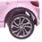kids 12v electric land rover discovery 2019 battery operated kids ride on car jeep with parental remote control rear wheel close pink hse sport in pink