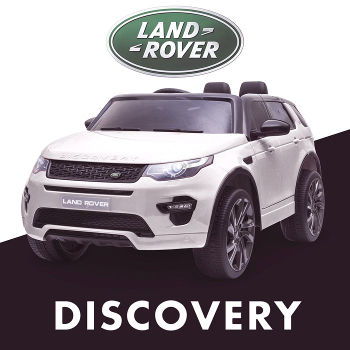 kids 12v electric land rover discovery 2019 battery operated kids ride on car jeep with parental remote control white hse sport in