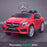 kids 12v electric mercedes gla 43 amg car licesend battery operated ride on car with parental remote control main front angle red 45 licensed 2wd white