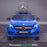kids 12v electric mercedes gla 43 amg car licesend battery operated ride on car with parental remote control main front direct blue 45 licensed 2wd