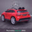 kids 12v electric mercedes gla 43 amg car licesend battery operated ride on car with parental remote control main rear angle red 45 licensed 2wd