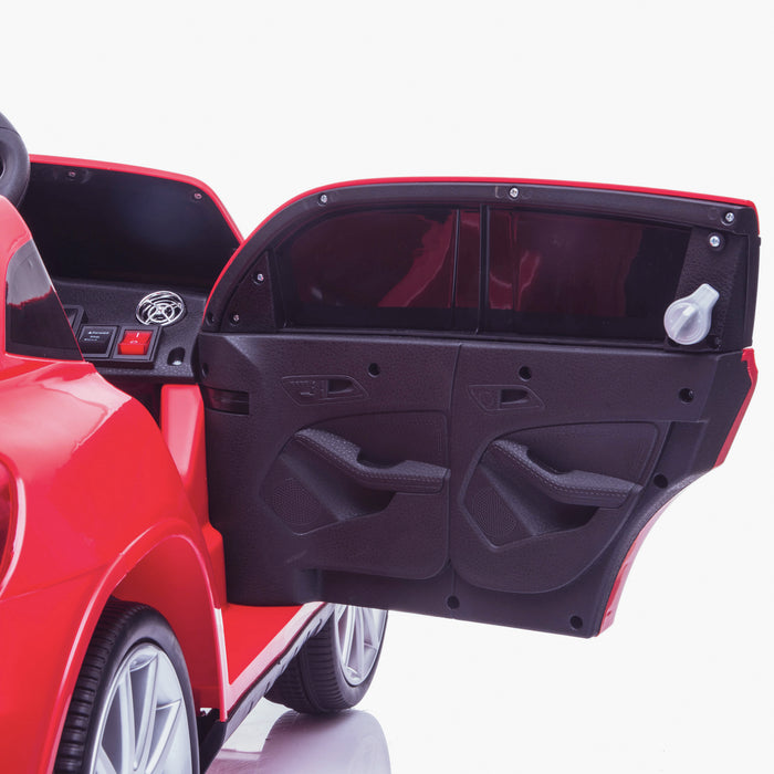 kids 12v electric mercedes gla 43 amg car licesend battery operated ride on car with parental remote control main2 door 45 licensed 2wd red