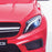 kids 12v electric mercedes gla 43 amg car licesend battery operated ride on car with parental remote control main2 front lights 45 licensed 2wd red