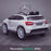 kids 12v electric mercedes gla 43 amg car licesend battery operated ride on car with parental remote control mainrear angle white 45 licensed 2wd blue