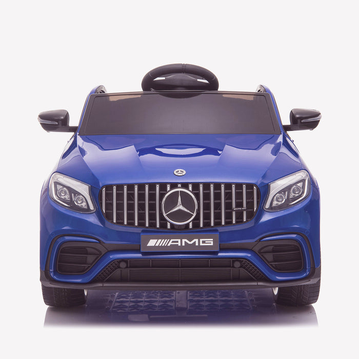 kids 12v electric mercedes glc 63s coupe battery car jeep pick up battery operated ride on car with parental remote control front direct blue benz amg licensed 2wd painted red