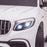 kids 12v electric mercedes glc 63s coupe battery car jeep pick up battery operated ride on car with parental remote control front light detail benz amg licensed 2wd painted grey