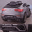kids 12v electric mercedes glc 63s coupe battery car jeep pick up battery operated ride on car with parental remote control mat gray rear angle benz amg licensed 2wd