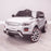 kids 12v range rover evoque style electric battery ride on car with parental remote control working boot functioning front perspective white 2wd