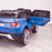 kids 12v range rover evoque style electric battery ride on car with parental remote control working boot functioning rear door open 2wd blue