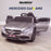 kids 12v mercedes benz c63s amg electric ride on car promo c63 in painted grey
