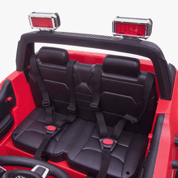 kids 24v hummer style ride on car jeep with parental remote control two seater seat belts 2 4wd