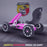 kids abarth ride on pedal go kart pedal powered ride on pink 1 licensed scorpion