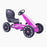 kids abarth ride on pedal go kart pedal powered ride on pink 4 licensed scorpion
