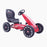 kids abarth ride on pedal go kart pedal powered ride on red 4 scorpion