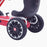 kids abarth ride on pedal go kart pedal powered ride on wheels licensed scorpion pink