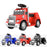 kids american truck electric ride on truck with usb port red Red 6v