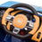 kids bugatti chiron licensed electric ride on car 3 buggati 12v 2wd blue white
