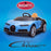 kids bugatti chiron licensed electric ride on car black blue buggati 12v 2wd blue white