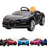 kids bugatti chiron licensed electric ride on car black buggati 12v 2wd black