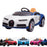 kids bugatti chiron licensed electric ride on car blue white main buggati 12v 2wd