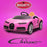 kids bugatti chiron licensed electric ride on car brave pink buggati 12v 2wd pink