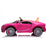 kids bugatti chiron licensed electric ride on car pink 2 buggati 12v 2wd black