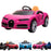 kids bugatti chiron licensed electric ride on car pink buggati 12v 2wd black
