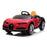 kids bugatti chiron licensed electric ride on car red 6 buggati 12v 2wd black