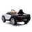 kids bugatti chiron licensed electric ride on car white 1 buggati 12v 2wd black
