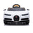 kids bugatti chiron licensed electric ride on car white 6 buggati 12v 2wd blue