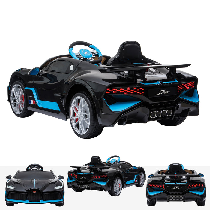 kids bugatti divo licensed electric ride on car main 12v 2wd