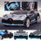 kids bugatti divo licensed ride on electric car supercar with parental remote control main gray Painted Grey 12v