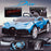 kids bugatti divo licensed ride on electric car supercar with parental remote control main promo blue buggati 12v 2wd painted black