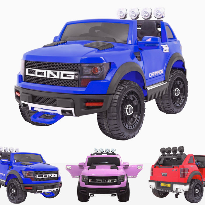 kids electric ride on car ford ranger wildtrak style battery operated pick up truck car jeep with parental remote control 12v blue wildtrack
