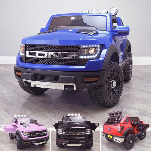 kids electric ride on car ford ranger wildtrak style battery operated pick up truck car jeep with parental remote control 12v v2 main blue wildtrack 2wd blue