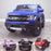 kids electric ride on car ford ranger wildtrak style battery operated pick up truck car jeep with parental remote control 12v v2 main blue Blue wildtrack