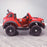 kids electric ride on car ford ranger wildtrak style battery operated pick up truck car jeep with parental remote control 12v v2 side red wildtrack