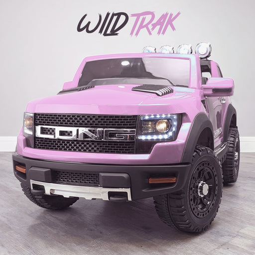 kids electric ride on car ford ranger wildtrak style battery operated pick up truck car jeep with parental remote control 12v v2 wildtrak pink in 2wd