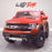 kids electric ride on car ford ranger wildtrak style battery operated pick up truck car jeep with parental remote control 12v v2 wildtrak red wildtrack