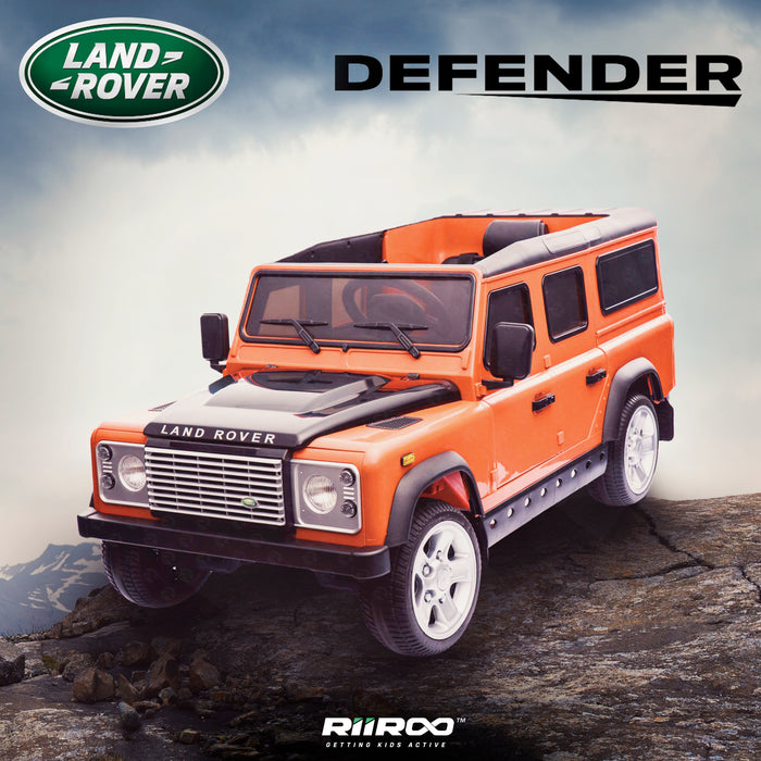 kids electric ride on car licensed land rover defender battery operated car jeep with parental remote control 12v life style
