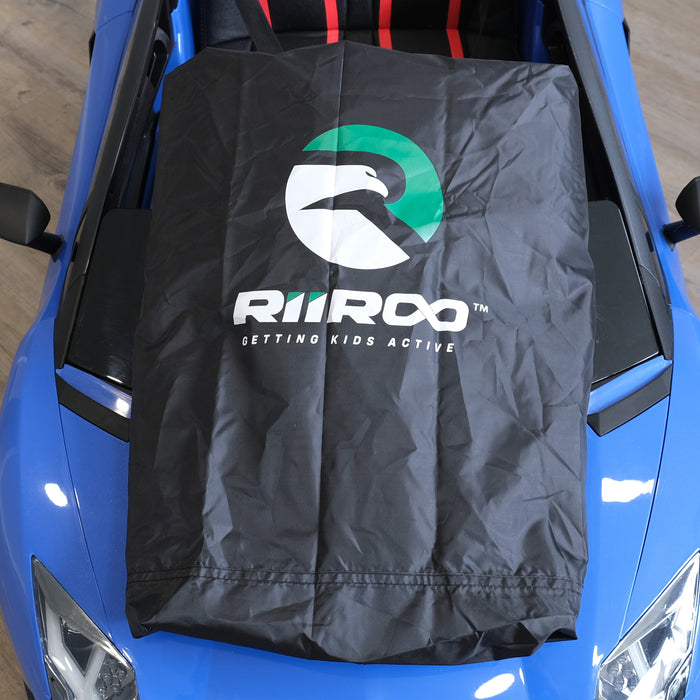 kids electric ride on cars rain dust cover riiroo and