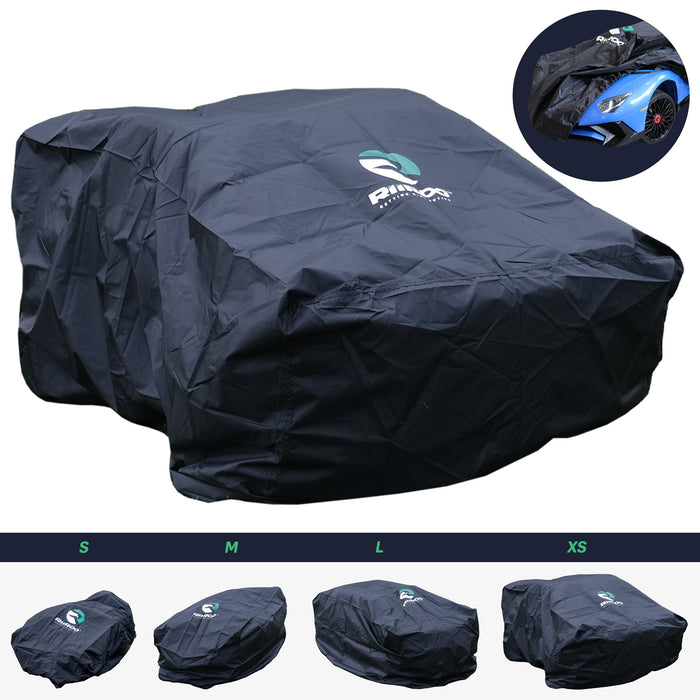 kids electric ride on cars rain dust cover extra large 0 riiroo car motorbike quad and